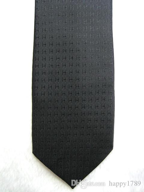 H307 # 100% seda jacquard tecido gravata dos homens feitos à mão