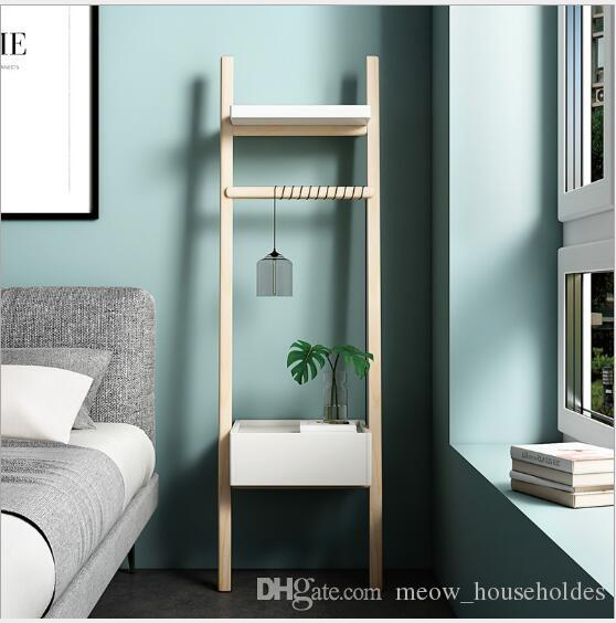 2019 Bedside Storage Cabinet Nordic Small Household Simple Ladder Corner By  The Wall Side Cabinet Bedroom Furniture Living Room Corner Cabinet From ...