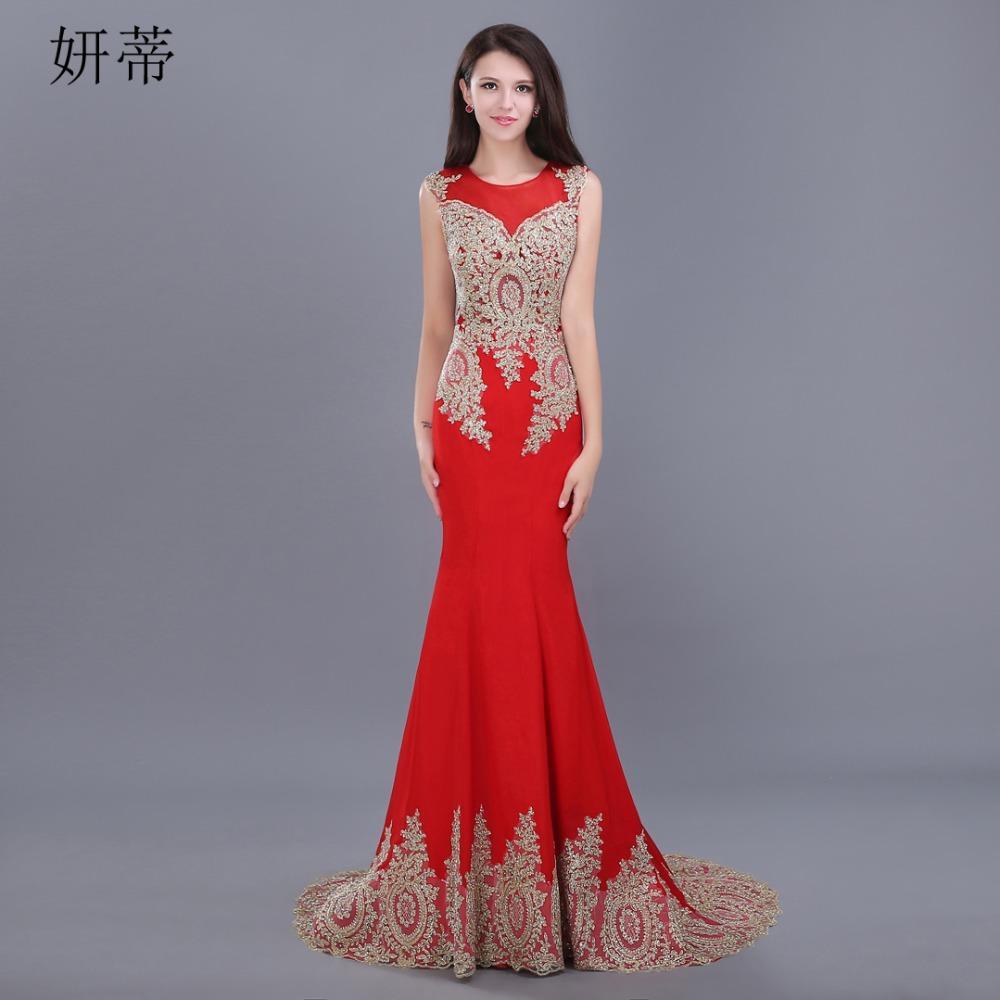 Элегантный винтажный ретро русалка вечернее платье выпускного вечера бисером аппликация зашнуровать о-образным вырезом без рукавов вечернее платье красный