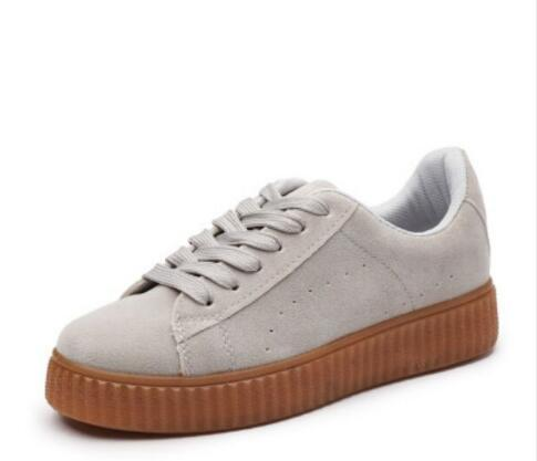 buy popular a71df 34e0e New Charity Fenty Suede Cleated Creeper Womens Fenty Creepers By Rihanna  Shoes Casual Shoes SIZE 35 44 Ladies Shoes Loafers For Men From ...