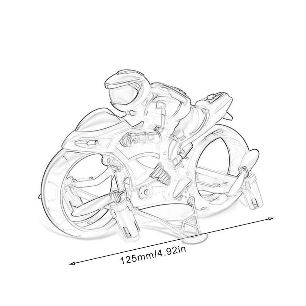 Criativo Mini motocicleta Crianças da motocicleta Rcycle Elétrica Remote Control Car Rc Mini 2,4 g corrida de motos Rbike Boy Toys