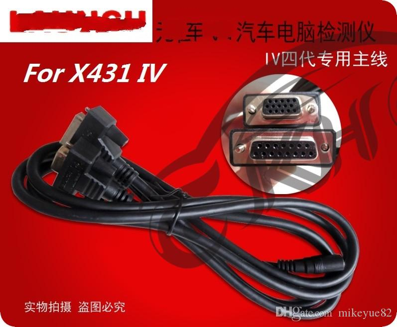 for Launch X431 OBD I II DLC Main Cable 431 Auto Diag IDIAG DIAGUN III IV V PRO 5C V+ EOBD Testing Cable Connector