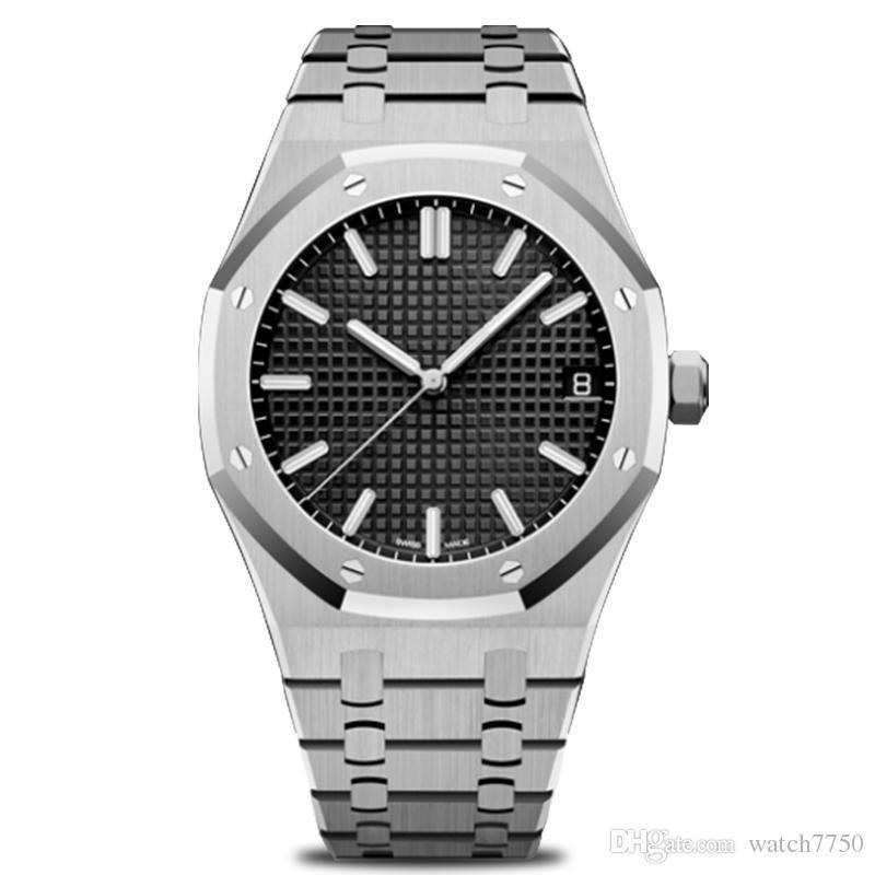 Tem caixa de relógio de marca famosa designers elegantes Homem relógios de diamantes relogio feminino qualidade pulseira de aço pulseira de relógio para homens mulheres tops