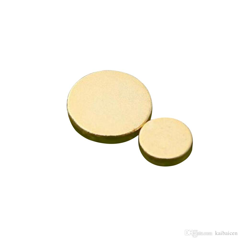 1 Pair 24K Real Gold health Magnetic Therapy Quit Stop Smoking No Smoke Magnet Magnetic Lose Weight Ear Auricular Loss Weight Acupressure
