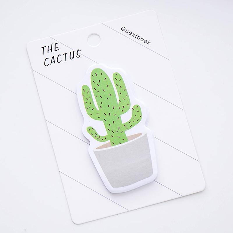 2020 Cute Cactus Memo Pad Sticky Note Sticker Memo Book Note Paper N Stickers Stationery Office Accessories School Supplies 672 100 From Sourcingagent 0 37 Dhgate Com