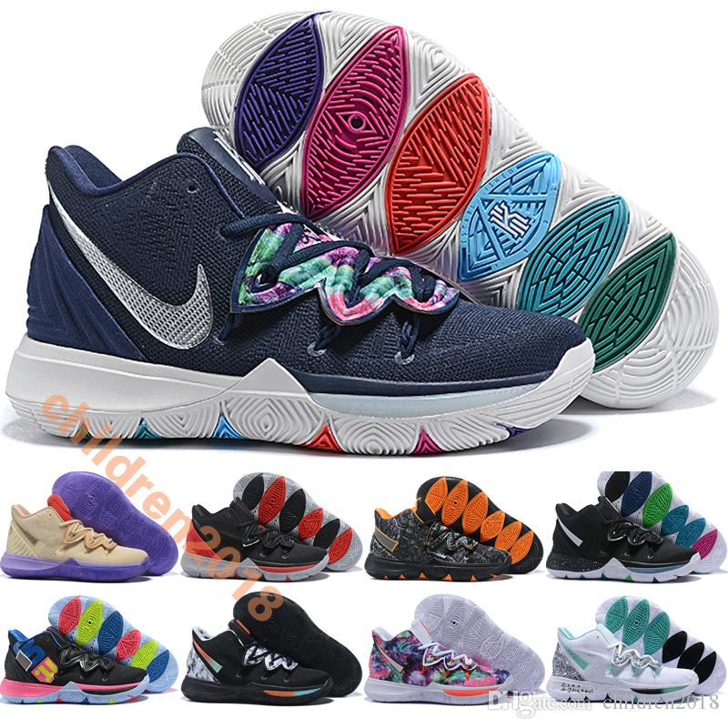 Irving 5 Kids Shoes For Women Kyrie 5s