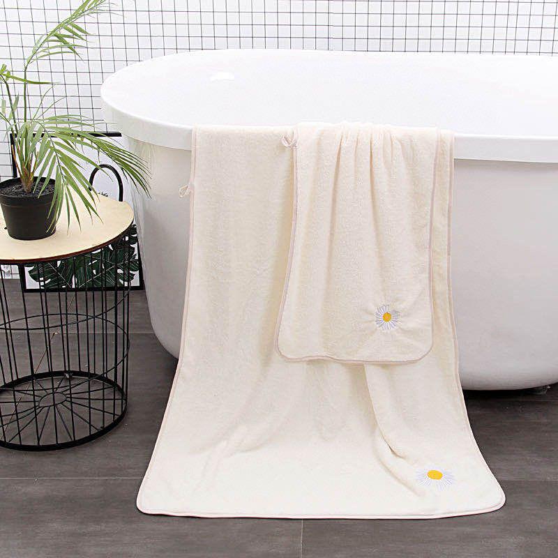 لينة مناشف حمام قطن كبير ماص حمام شاطئ الوجه فوط قطن الرئيسية حمام فندق للبالغين أطفال زهرة نمط