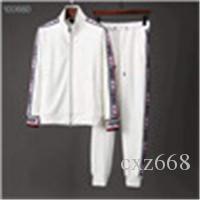 Erkekler Spor Hoodie Ve Tişörtü Siyah Beyaz Sonbahar Kış Jogger Spor Suit Erkek Ter Suits eşofman Seti Artı Size015