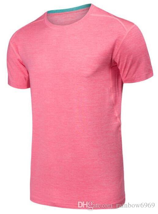 A18 мужская обтягивающая одежда для бега с короткими рукавами быстросохнущая футболка 696898989