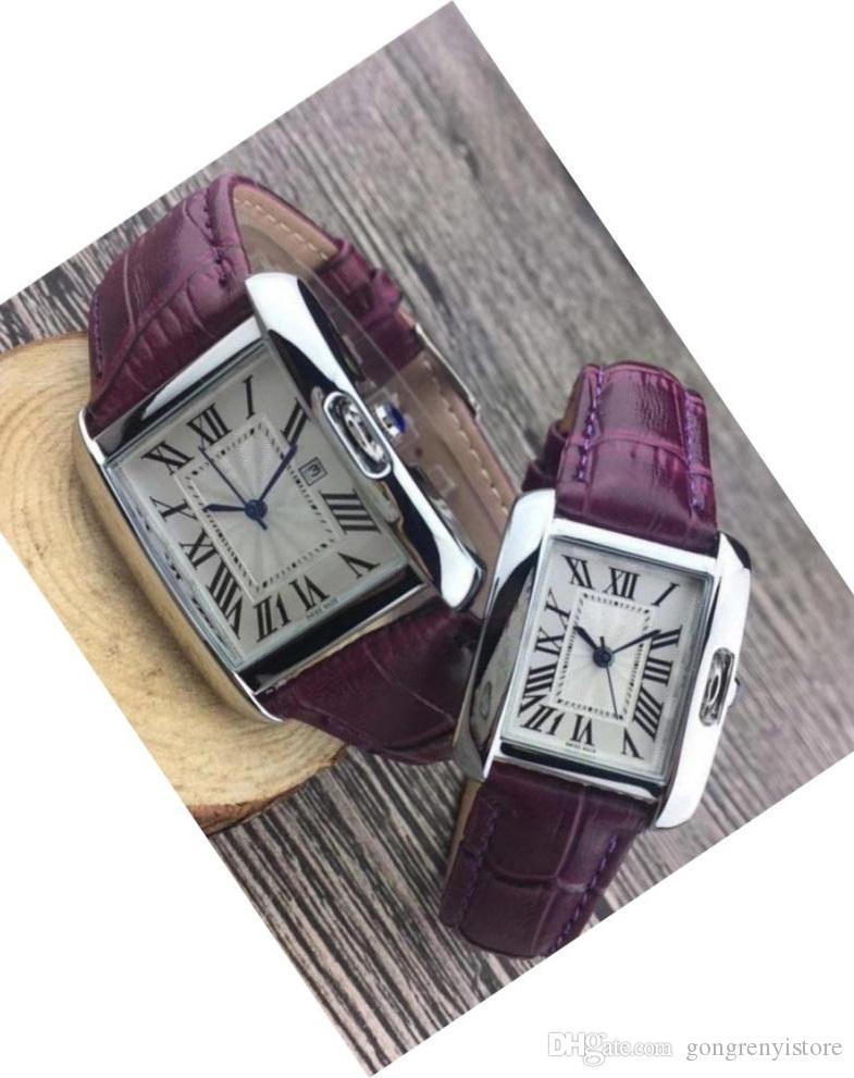 Лучшие модные роскошные мужские Женские черные кожаные часы хороший дизайнер из нержавеющей стали сексуальные женские часы высокое качество кварцевые часы drop shipping