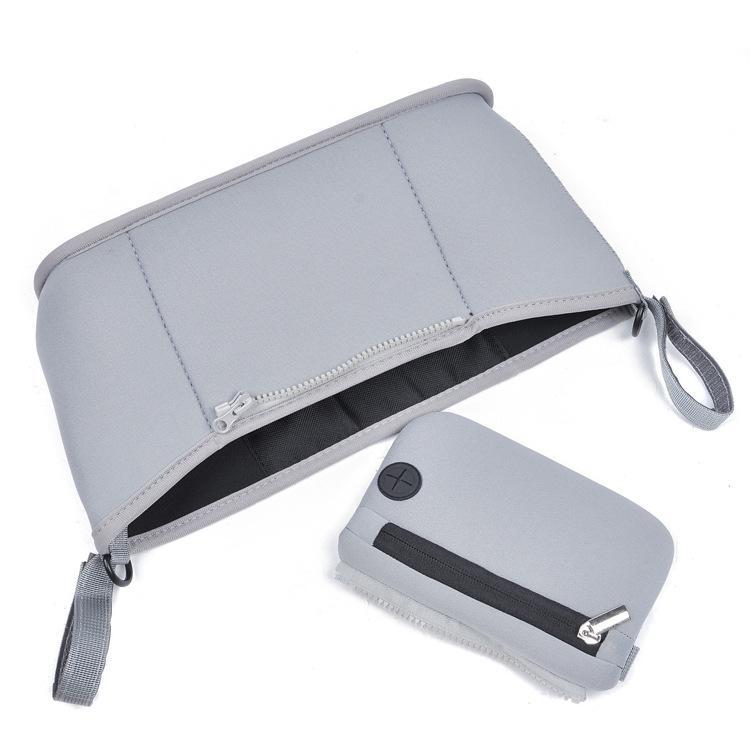 Zipper дизайн Мокрый мешок многоразового использования для кормящих Менструальный колодки Waterptoof Привязать ручкой Wetbag Материнство Пеленки сумка коляска сумки ZL623