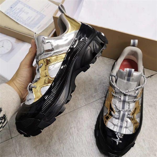2020 Men Women Shoes 19FW Arthur TB Printed Mens And