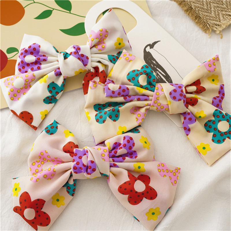 Sweet Floral Hairpins Woman Flower Hair Clips Girls Hair Grips Hair Accessories Headwear Barrettes For Female Ornaments