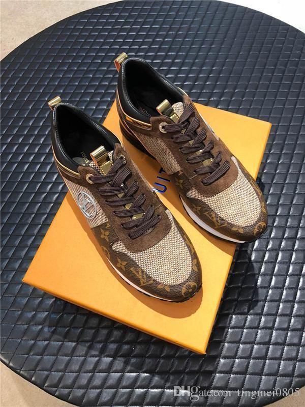 louis vuitton LV Herren Schuhe Luxus Große Größen-Qualitäts-beiläufige lederne Big Size Herren-Schuhe Gummisohle Schuhe de hombre Ankle Boots Vintage Style Herren Schuhe