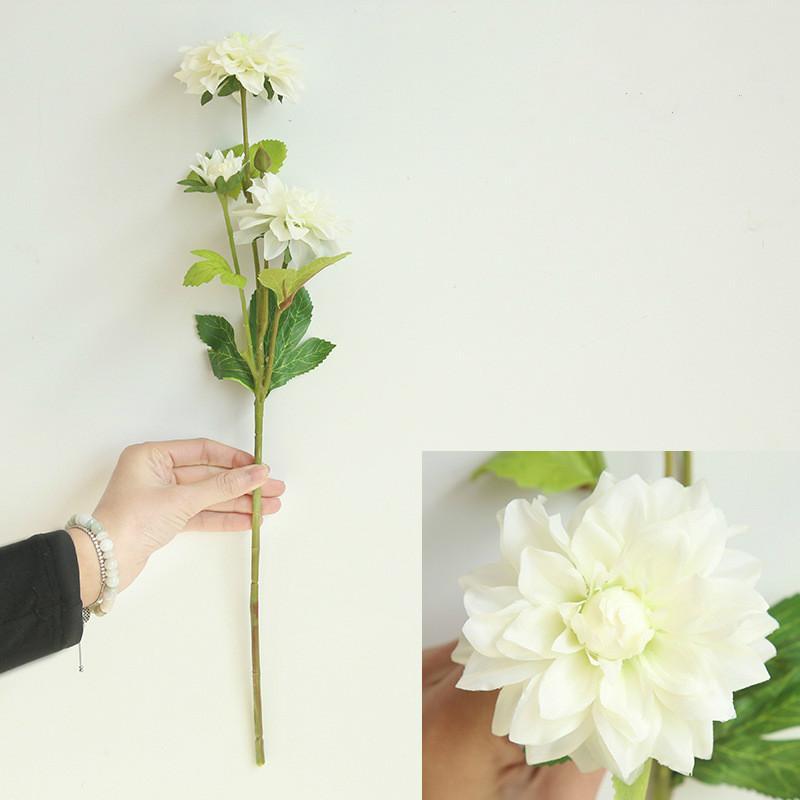 10pcs artificielle Bouquet Soie Fleur Calla Lily Blossom Home Fête de Mariage Decor