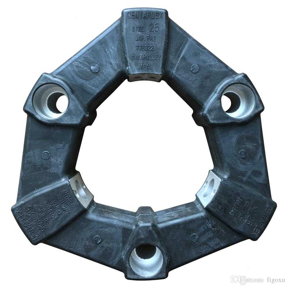 Japan MIKIPULLEY SIZE25 JAP PAT778322 Coupling CENTAFLEX GROSSE 25 DBP2019608 NO.25 US PAT3683643 Applied to injection molding