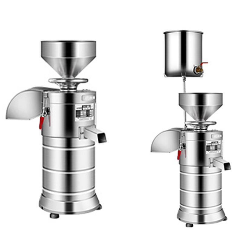 Commercial Soya Milk machine machine lait de soja en acier inoxydable 220v électrique Slurry séparé Maker Soymilk Tofu