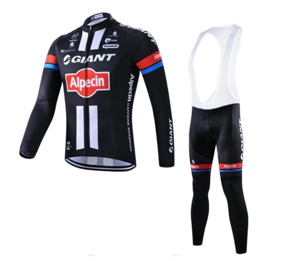 Jerseys de Ciclismo gigante fato de longa manga nova chegada mtb Bicicleta maillot ropa ciclismo hombre Men Roupa de Ciclismo Bicicleta usar zefengst