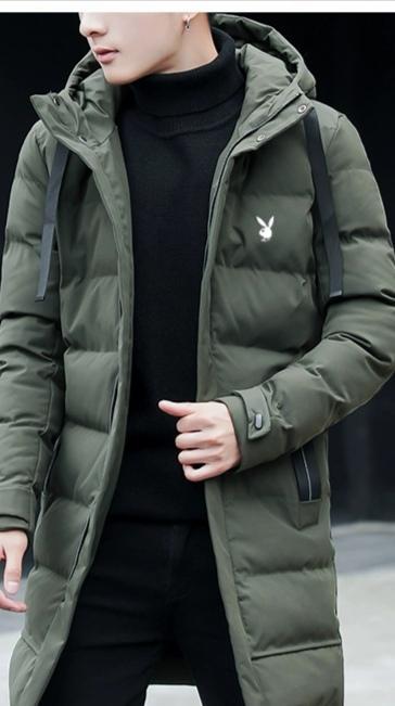 Этой зимой, новый мужской стиль длинной модели является Одеяло белая утка вниз