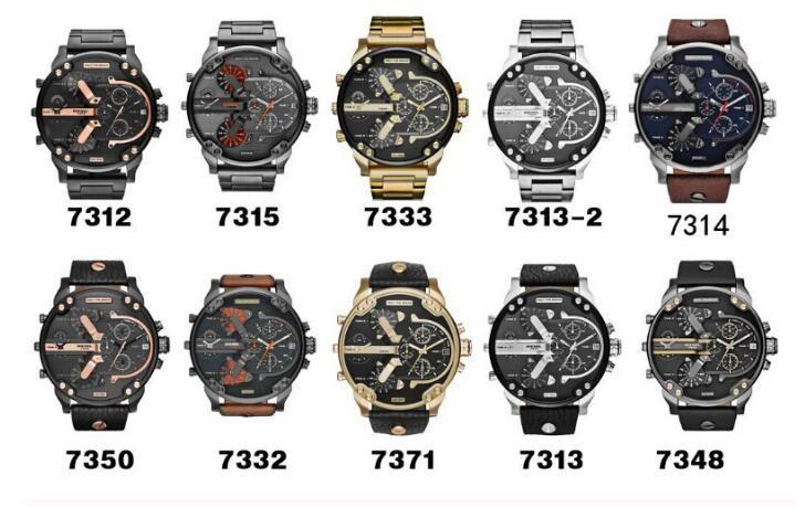 Hot sell Men Running Sports Watches Big Dial Display Top Brand Luxury commerce watch Quartz Watch Tabla de deportes Fashion Wristwatches