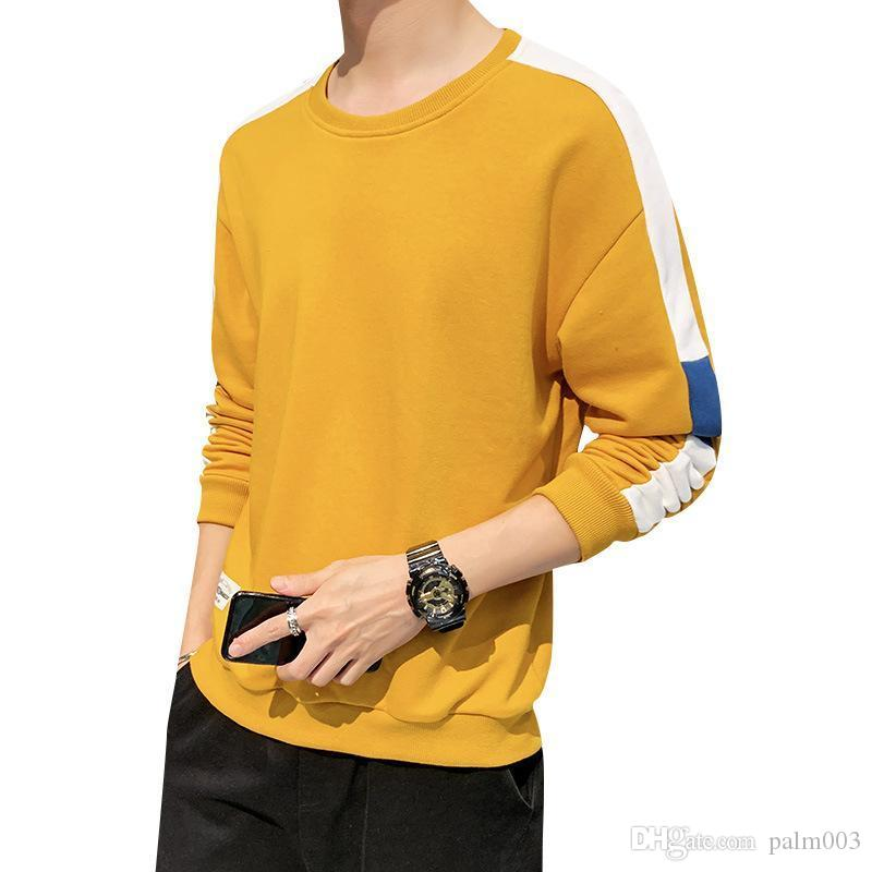 Camisola dos homens de marca capuz de luxo para homens com de mangas compridas Jumper Moda Streetwear Designer Mens Hoodies com retalhos wholesa