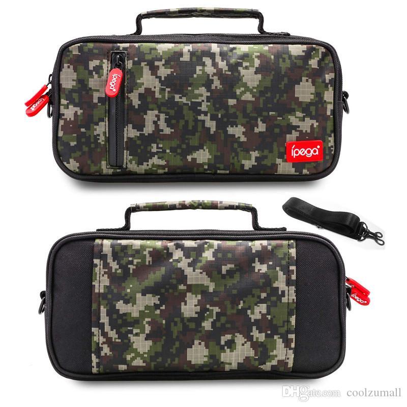 حقيبة تخزين الكتف حقيبة حمل حقيبة الرياضة في الهواء الطلق المحمولة لنينتندو لايت التبديل على ظهره