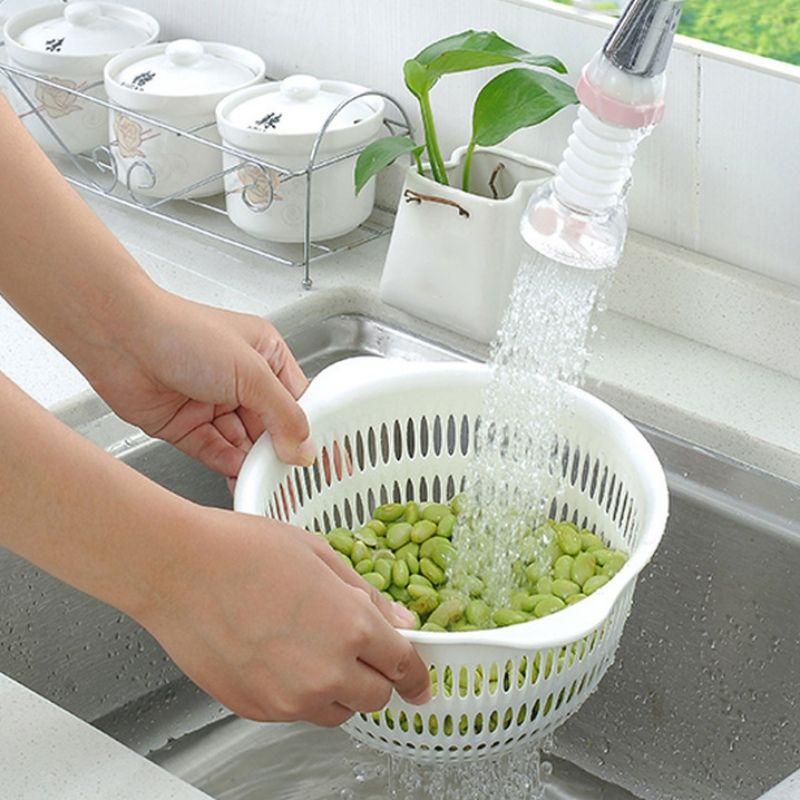 Creative Kitchen Faucet Adjustable Tap Extender Faucet Saving Water Splash-Proof Water Outlet Shower Head Filter Sprinkler
