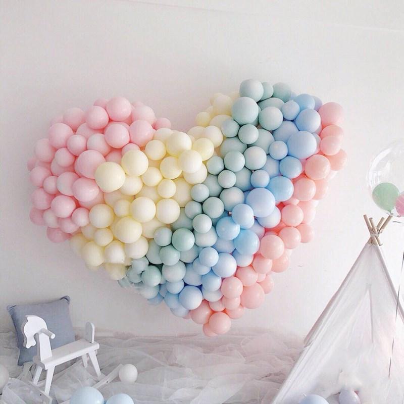 100Pcs Partei Latexballons Dekor für Hochzeit Geburtstagsfeierbevorzugungen Kind-Geschenk-Hauptdekorationen 10 Zoll