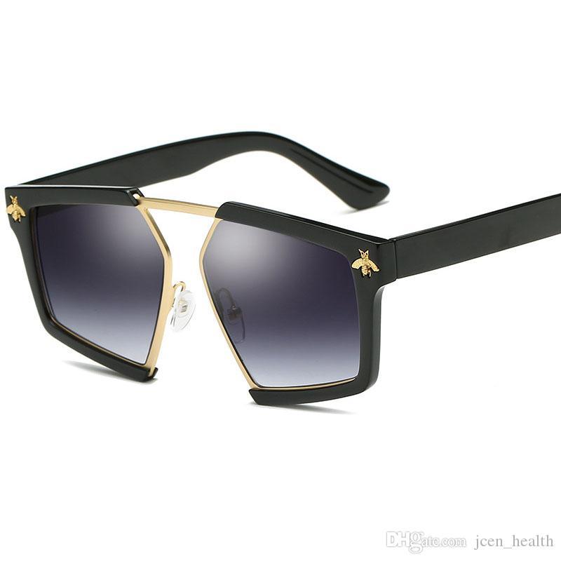 النظارات الشمسية 2020 أزياء ملونة مضلع الشمس الزجاج النساء إطار معدني الشارع خمر عدسة الشمس نظارات ريترو في الهواء الطلق Lentes دي سول موهير