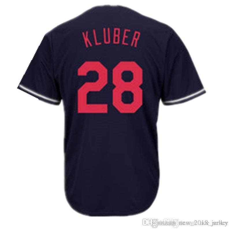 Camiseta con Cuello en-V Aut/éntica para J/óvenes y Adultos Hhwei Cleveland Indians 12# Francisco Lindor