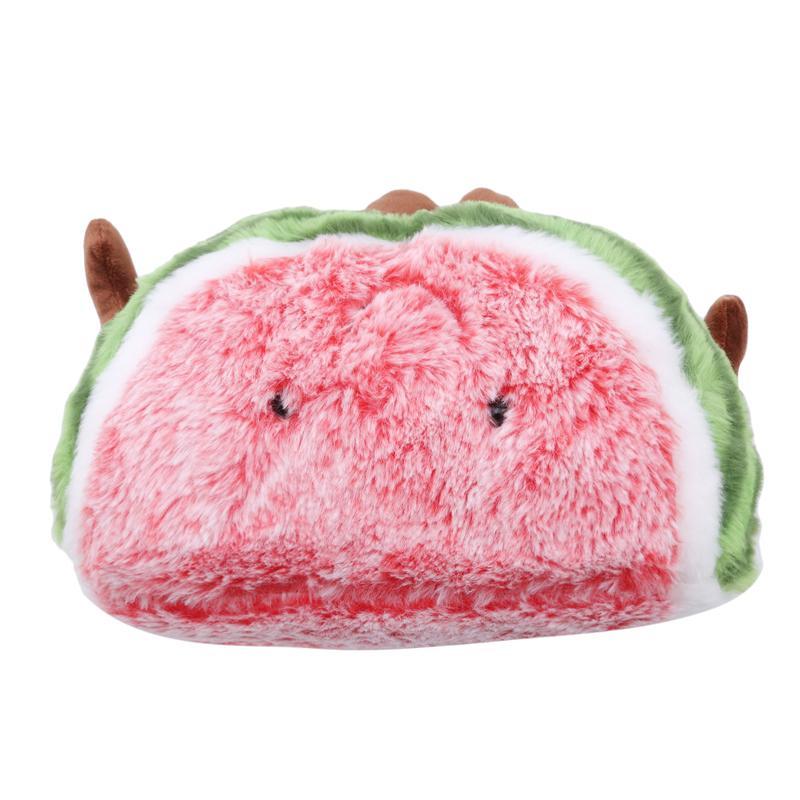 Bonito Almofada melancia cereja Macio Stuffed Pillow Sofá Decoração Brinquedos Fruit Forma Plush Doll Toys presente de aniversário para crianças