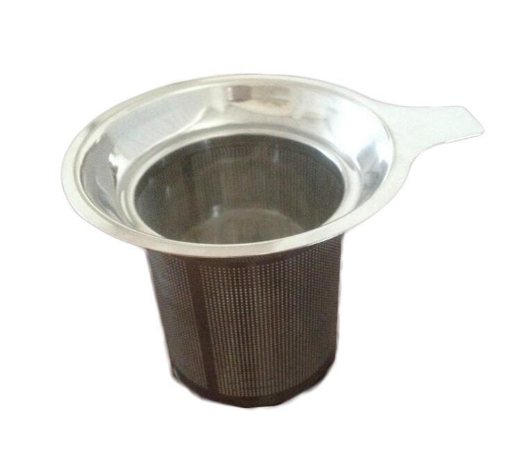 Nuovo arriva in acciaio inox Mesh del tè Infuser riutilizzabile setaccio allentato Tea Leaf Filtro DHL FEDEX libera