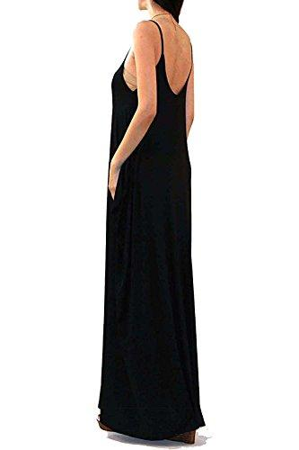 718a5775fd Vivicastle Batwing Oversized Loose Plain Summer Sleeveless Pocket Long Maxi  Dress Dresses S Dressing For Women From Sugarlive