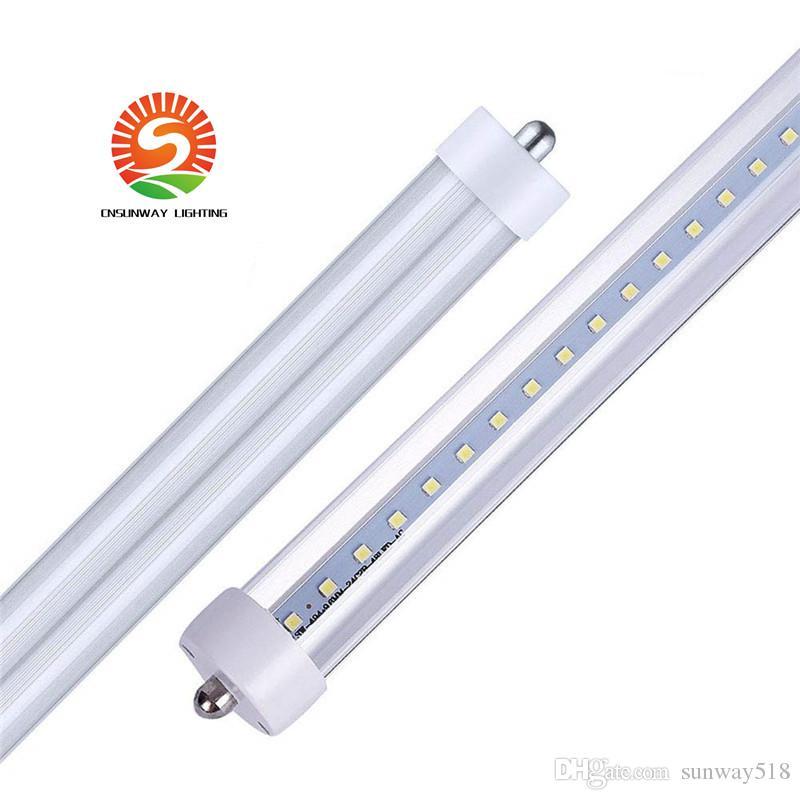 LED Tube FA8 45W LED T8 8FT Singe Pin tubo Lâmpada T8 Lâmpada LED 2.4M tubo fluorescente Loja Luz