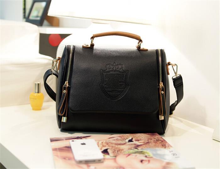 Diseñador bolsos de la mujer bolsos de los diseñadores monederos de las señoras de mano Bolsas con cierre de cremallera de hombro Llanura bolsos de lujo para mujeres Bolsas