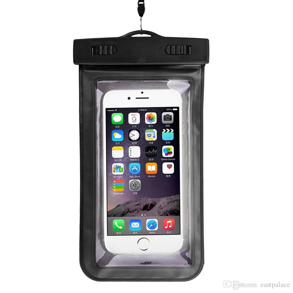 Универсальный водонепроницаемый мешок чехол для чехлов для iPhone 13 12 11PRO MAX Samsung S8 Примечание 9 8 Xiaomi Redmi Телефон Водонепроницаемый Сумки Чехол
