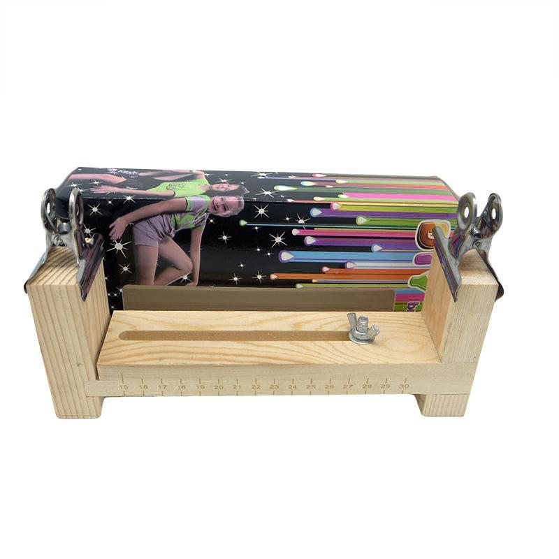 NOUVEAU Outil bricolage à tricoter main parapluie corde bricolage tricot d'urgence Camping Bracelet KnittingTool Métier à tisser arc-en-Knit Wristband Maker