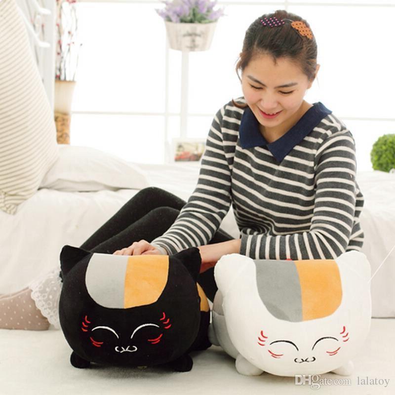 Prenota 23 centimetri giocattoli della peluche di Natsume di Amici Anime giapponese Natsume Yuujinchou Nyanko Sensei Cat figura di azione del modello giocattolo del bambino bambini