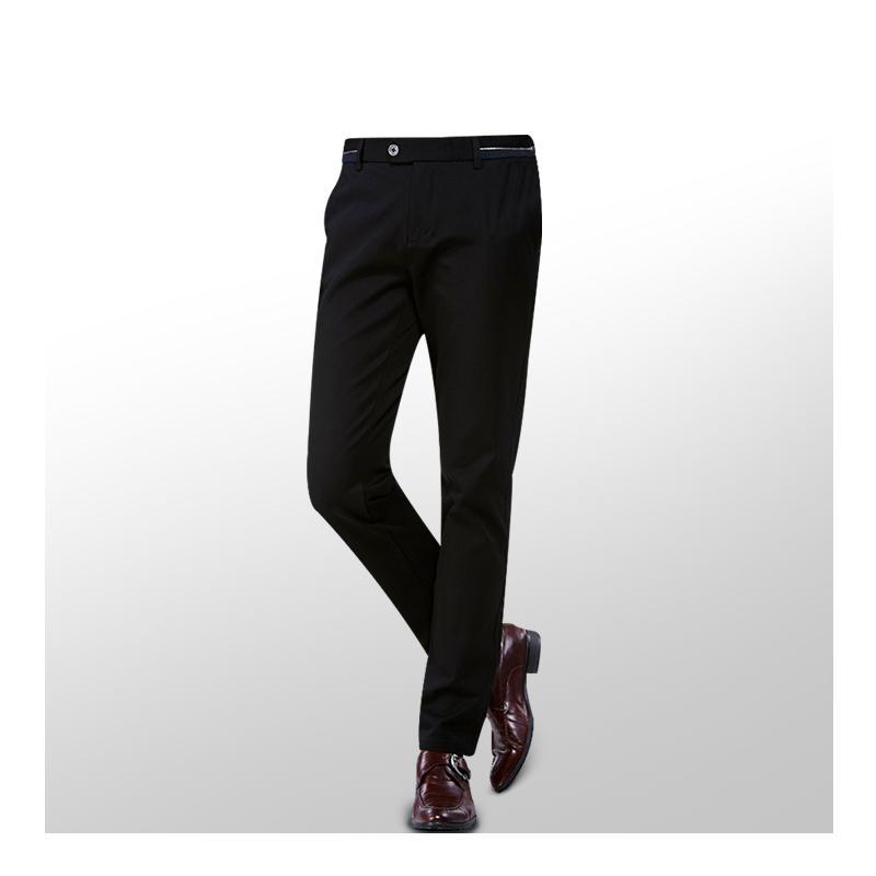 2019 de alta qualidade Moda Zipper de New Arrivals Homens terninho formais de visita clássico Reunião terno de calças de desgaste para homens