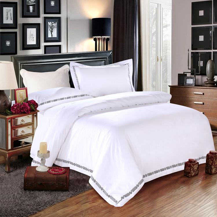 Hotel conjunto de roupa de cama com fornecedor