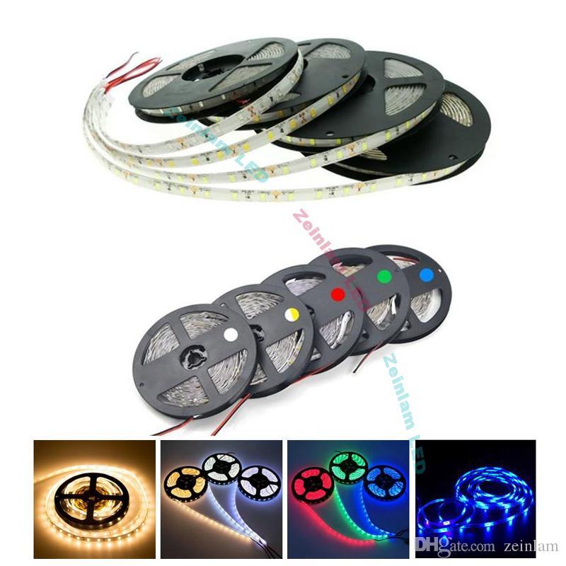RGB SMD5050 indoor outdoor tape lights LED Strip Light Waterproof - DC12V SMD 5050 LEDs Rope strip bulb