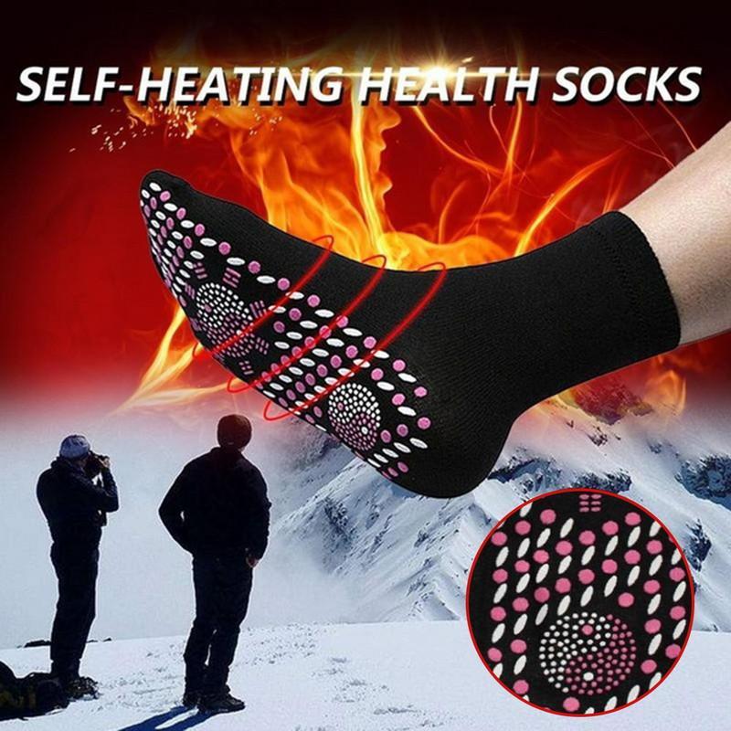 2019 Yeni Öz ısıtma Elektromanyetik Çorap Rahat Nefes Kış Kayak Spor Sıcak Spor Çorap Kar Sporları Açık Tırmanma