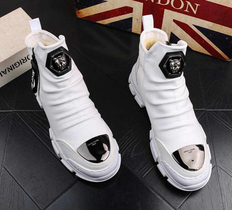 inverno sapatos outono botas Martin botas de neve dos homens alta de algodão homens de inicialização juventude ankle boot ocasional bootiesV45 couro quente