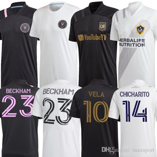 INTER MIAMI Socer jersey 2020 2021 Los Angeles Galaxy FC LAFC Beckham 20 21 VELA CHICHARITO MLS INTER MIAMI CF camisas del fútbol
