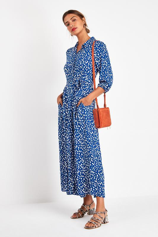 ER YA ER YUN Vintage Çiçek Maxi Elbise Kadınlar Boho Kol Uzun Elbise Aşağı Yaka Günlük Gömlek Elbise Robe çevirin yazdır