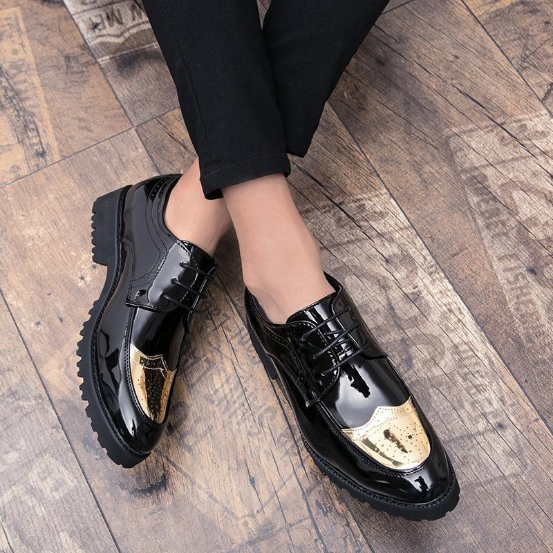 Men Shoes Formal Italian New Stylish