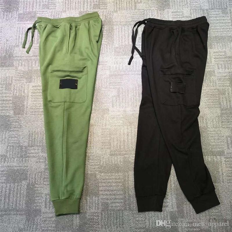 Erkek Parça Pantolon Günlük Stil Çapa Satış Erkekler Kamuflaj Koşucular Pantolon Parça Pantolon Kargo Pantolon Pantolon Elastik Bel Harem Erkekler