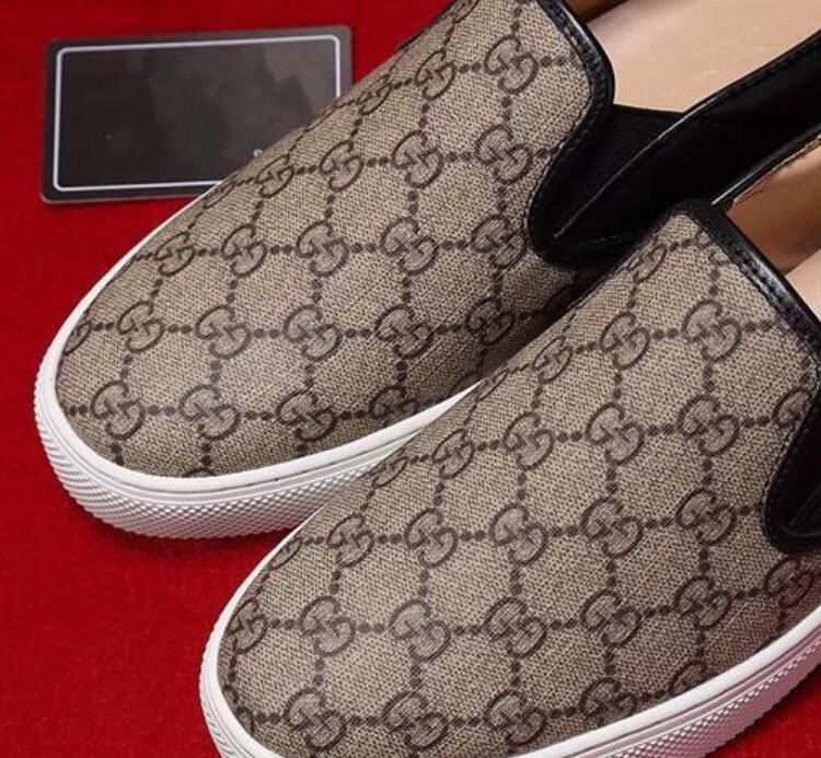cuir de chaussures plates couche imprimée, chaussures de sport pour hommes, haut de gamme à la main en cuir imprimé, chaussures de mariage marche mode G6.17