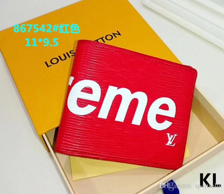 s5 2020 Europa und Amerika Hot Selling Männer Frauen Tiermuster-Folding Wallet Multifunktions Münze Card Check Wallet Multicolor