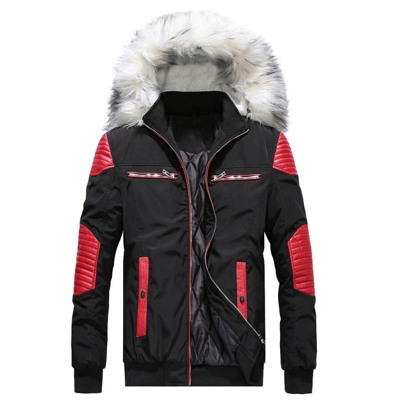 Larga Otoño abrigo de lana de invierno de los hombres de camuflaje de la blusa engrosamiento Escudo suéter Outwear la blusa de la tapa parka